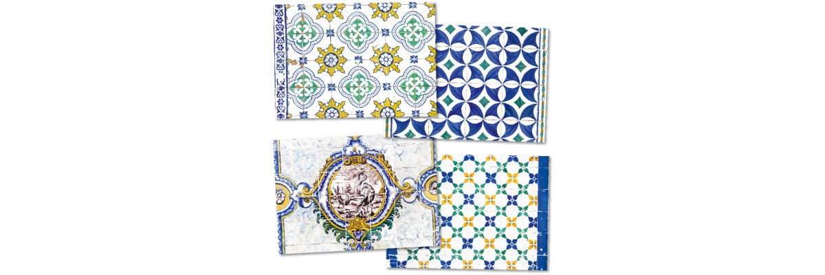Azulejos-Dekore - der Charme Portugals an Ihrem Tisch! - Azulejos-Dekore - der Charme Portugals an Ihrem Tisch!