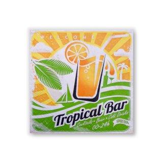 Papierservietten TROPICAL BAR -Cocktail-