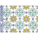 Tischdeko-Block AZULEJOS 2