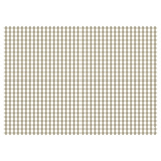 Papiertischset VICHY beige