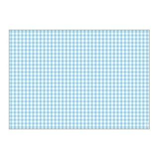 Papiertischsets VICHY bleu