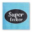 Papierservietten SUPER LECKER -Lunch-
