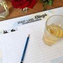 Papiertischsets STADT-LAND-DINGS