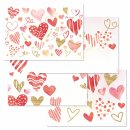 Papiertischsets LOVE