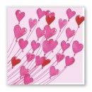 Papierservietten LOVE -Lunch-