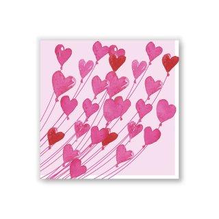 Papierservietten LOVE -Cocktail-