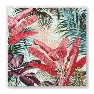 Papierservietten TROPICAL PLANTS -Lunch-