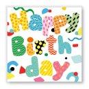 Papierservietten BIRTHDAY PARTY -Lunch-