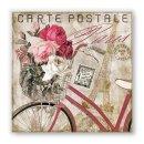 Papierservietten CARTE POSTALE PARIS -Lunch-