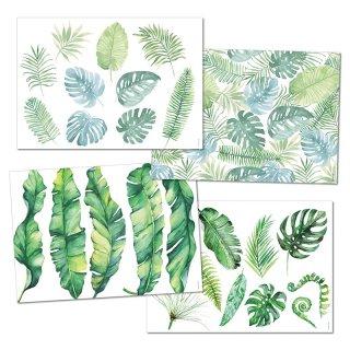 Papiertischsets GREEN
