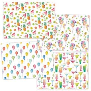 Papiertischsets SUMMER PARTY